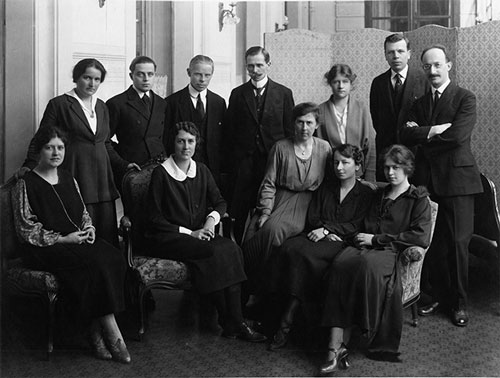 Các thành viên của Tổ chức y tế Hội Quốc liên, ảnh chụp năm 1920