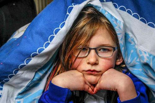 Olivia Farnsworth cô bé siêu nhân không biết đau, không biết đói và mệt mỏi